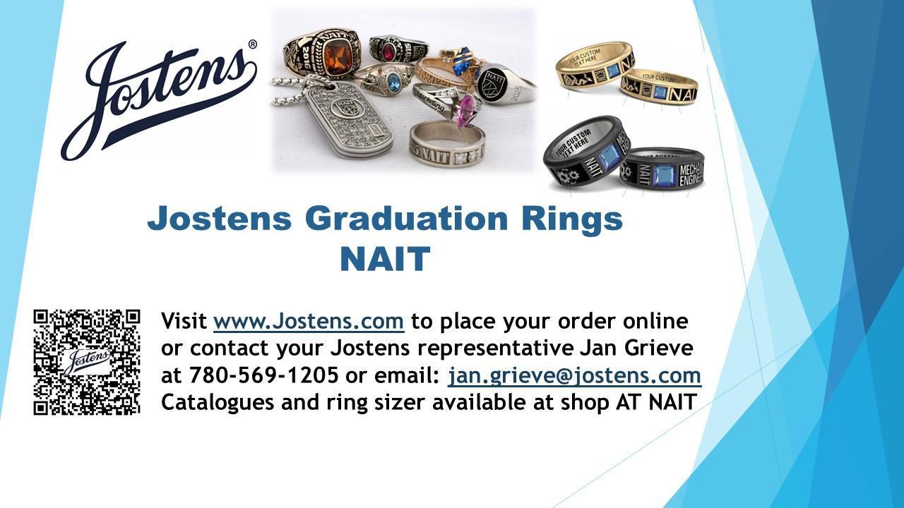 NAIT Graduation rings