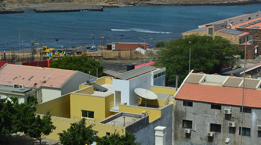 residential solar panel in Praia, Cape Verde