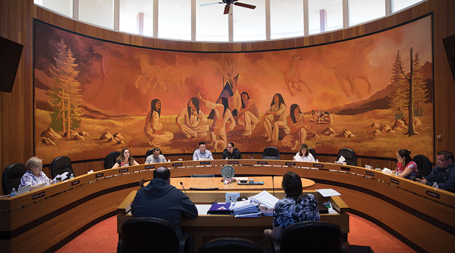 enoch cree nation council chambers